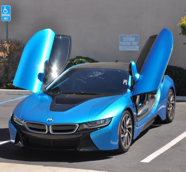 California Motorsports Is Proud To Announce Our New Shop Car Bmw I8
